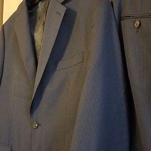 Chaps Pinstripe Suit